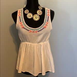 Embroidered SUMMER BLOUSE